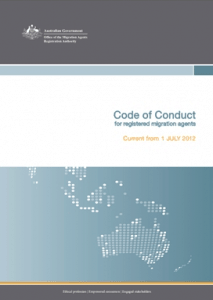 Code of Conduct - Migration Agents