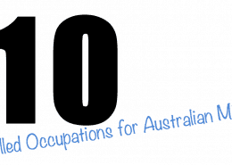 Top 10 Skilled Occupations for Australian Migration