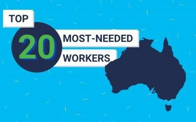 Australia's top 20 most-needed workers